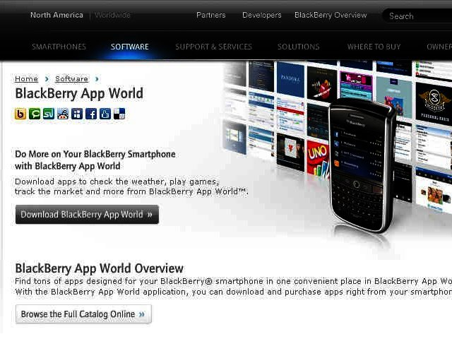 News: BlackBerry joins the modern world