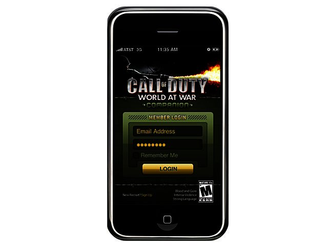 application call of duty Games iphone