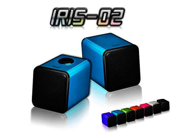 Divoom IRIS-02 USB-powered speakers