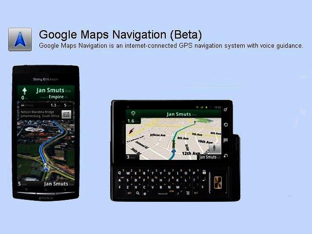 news google announces google maps navigation beta for mobile. Black Bedroom Furniture Sets. Home Design Ideas