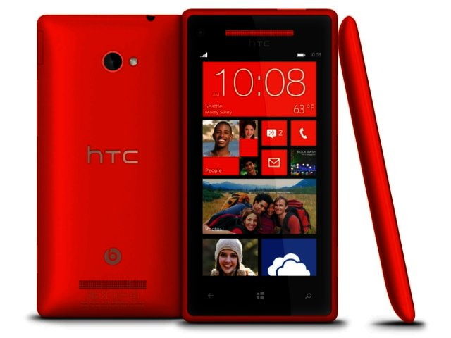 HTC showcases Windows Phone 8X locally