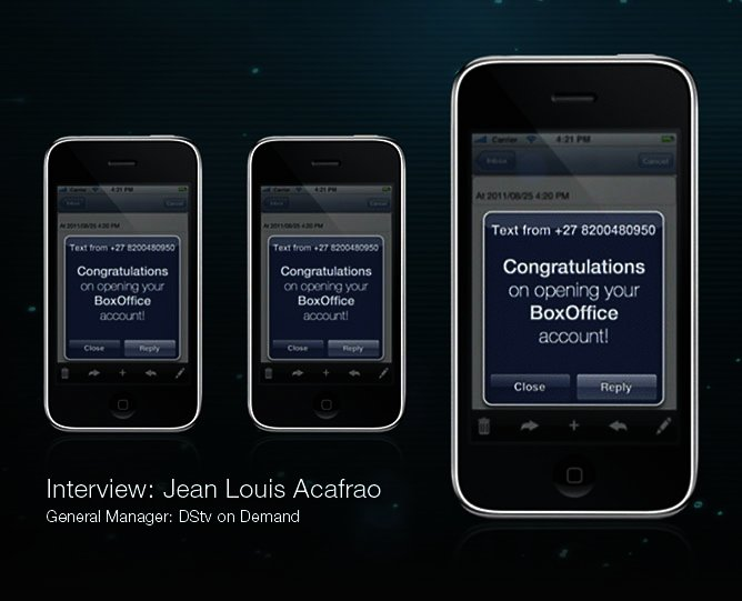 News: Jean Louis Acafrao, DStv on Demand