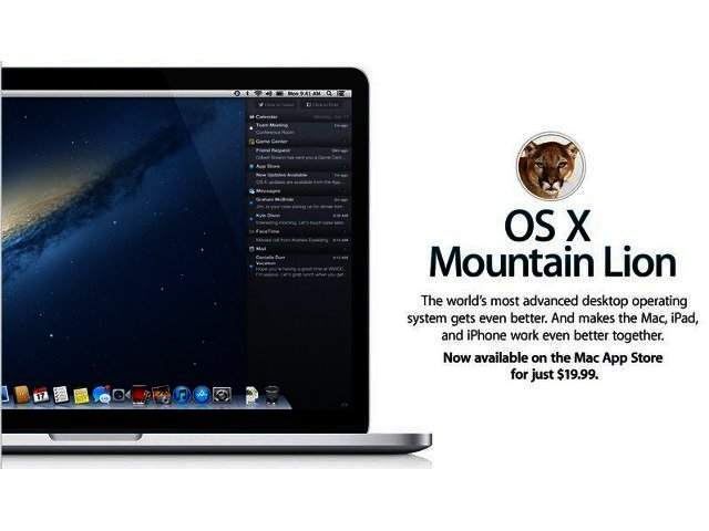Mountain Lion the new king of the Apple OS jungle