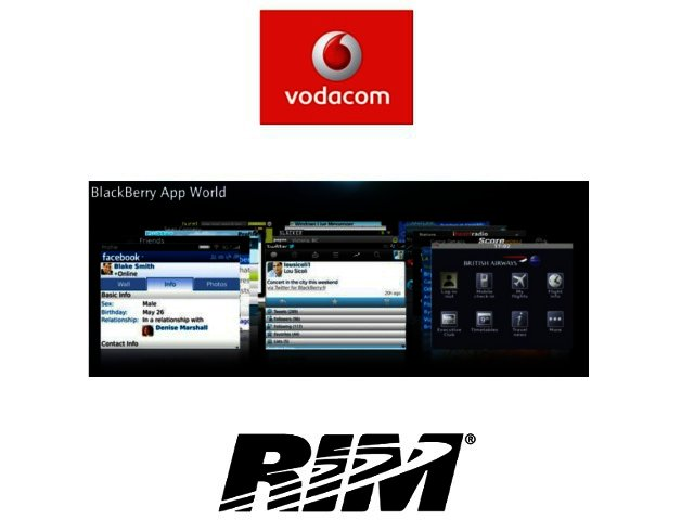 New app payment method for BlackBerry users from Vodacom