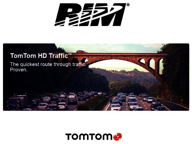 RIM and TomTom set a course for new strategic partnership