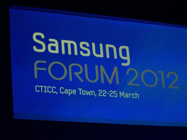 Samsung Forum focuses on inspiration Part 2