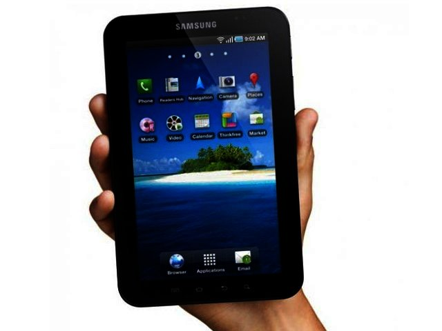 Samsung hits one million with Galaxy Tab