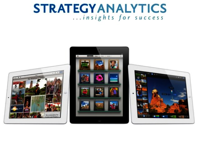Strategy Analytics - tablet shipments reached 25 million in Q2 2012