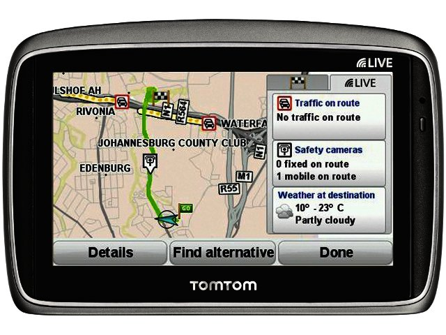 Tomtom distance calculator south africa.