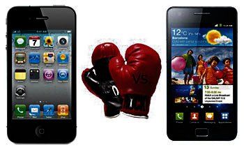 Apple vs Samsung Picture