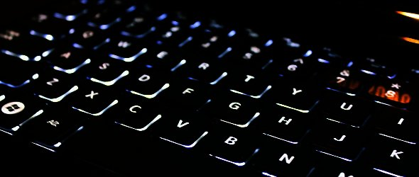 Backlit Notebook Keyboard