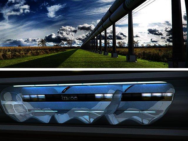 News elon musk touts hyperloop transportation system