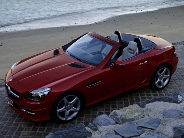 News mercedes benz sharpens slk range with the help of amg for Mercedes benz technical support