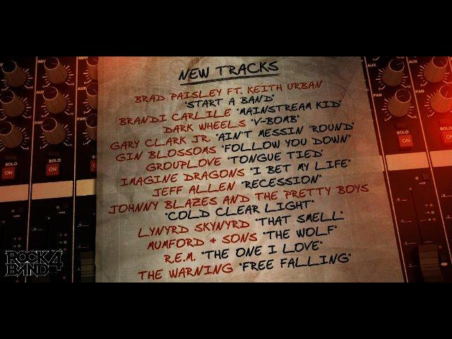 News: Rock Band 4 setlist revealed