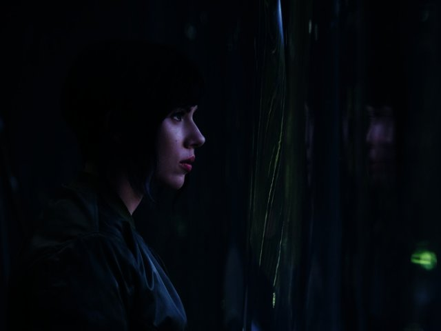 News Scarlett Johansson Featured In First Image For Live Action Ghost In The Shell