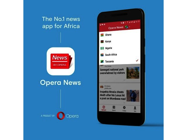 Opera launches its new app, Opera News, in Africa