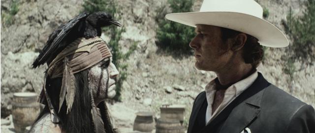 The Lone Ranger, movie review, movies, Johnny Depp, Armie Hammer, Tonto, John Reid