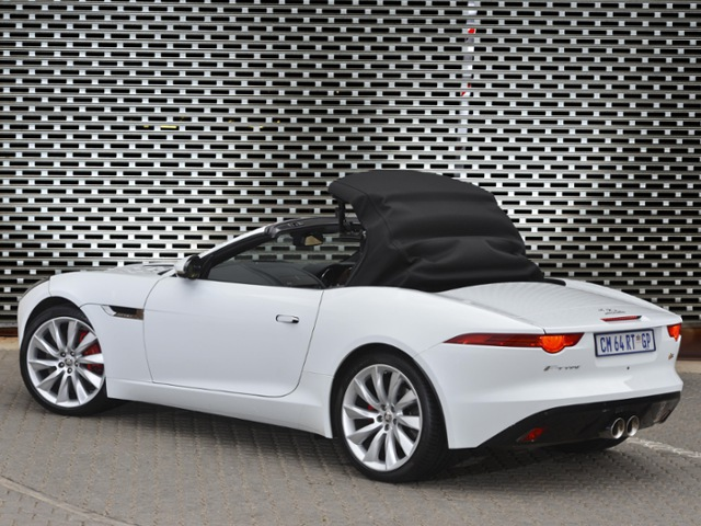 Jaguar, Jaguar F-Type, sports car, roadster, convertible