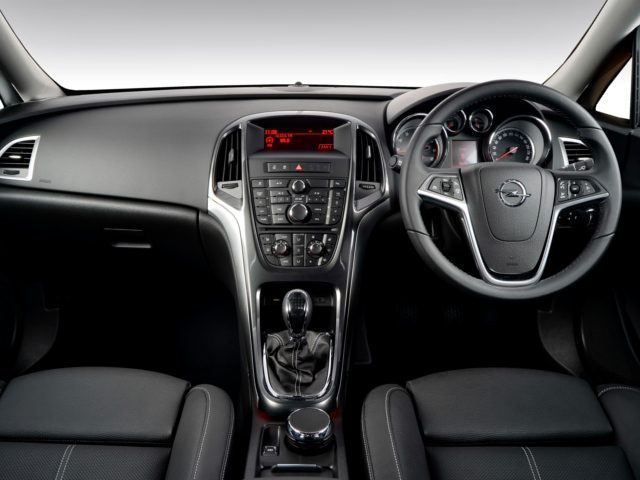 News opel introduces astra sedans locally refreshes for Opel astra 2014 interior