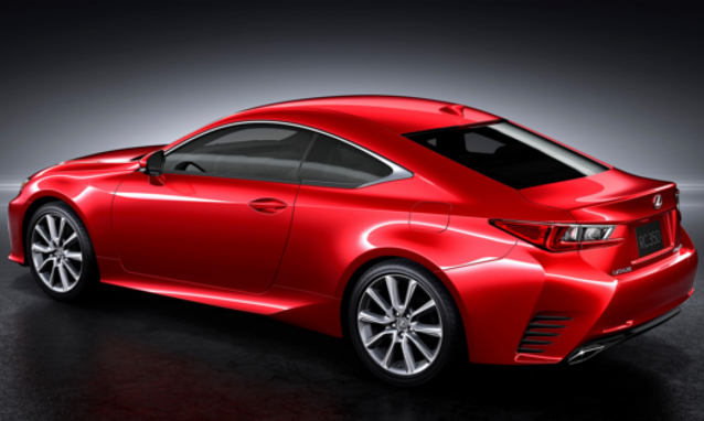 Lexus, Toyota, car news, motoring news, South Africa, local news, Lexus RC Coupe, luxury sedan, executive saloon, sporty executive sedan