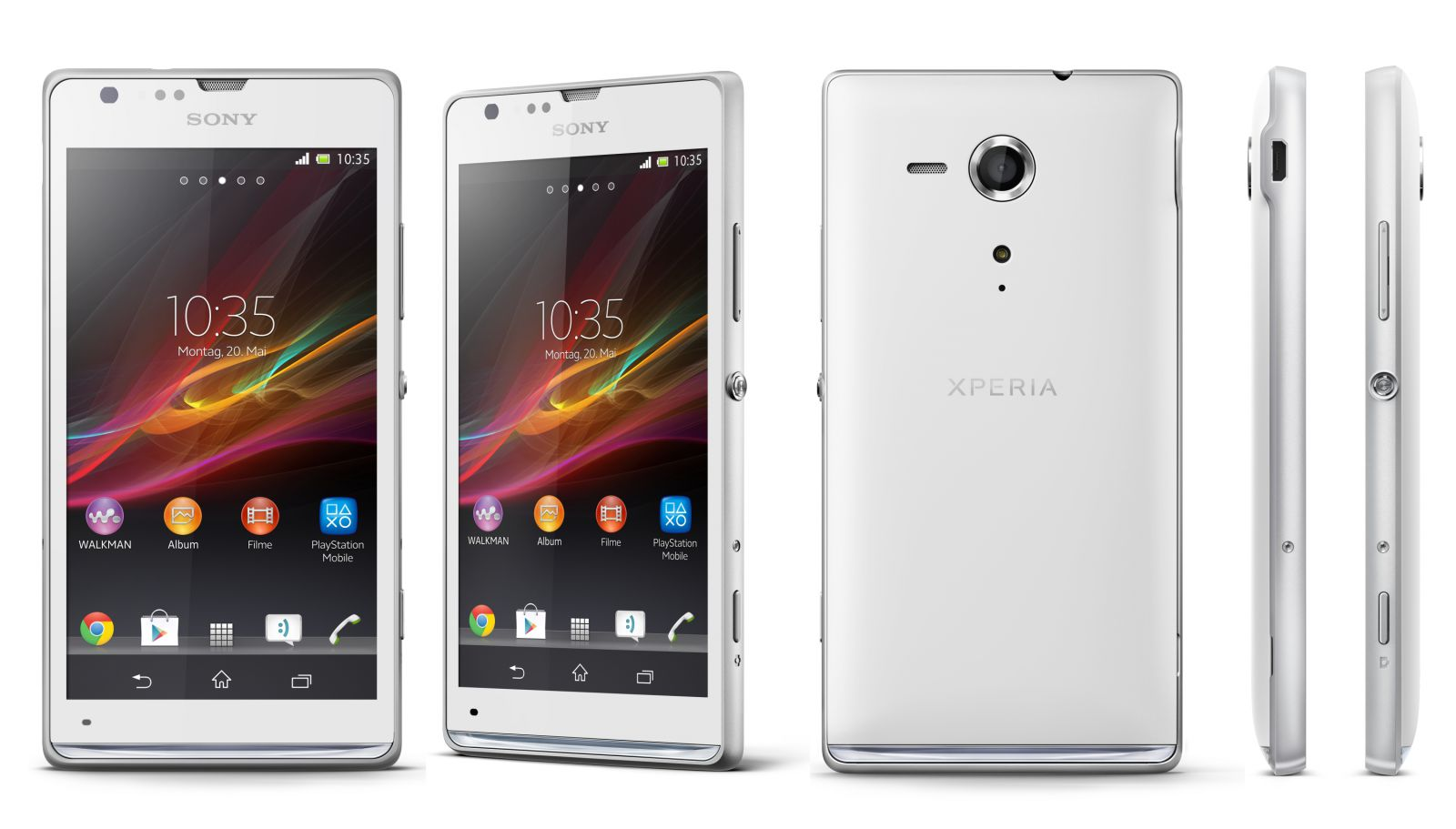 Sony Xperia SP competition