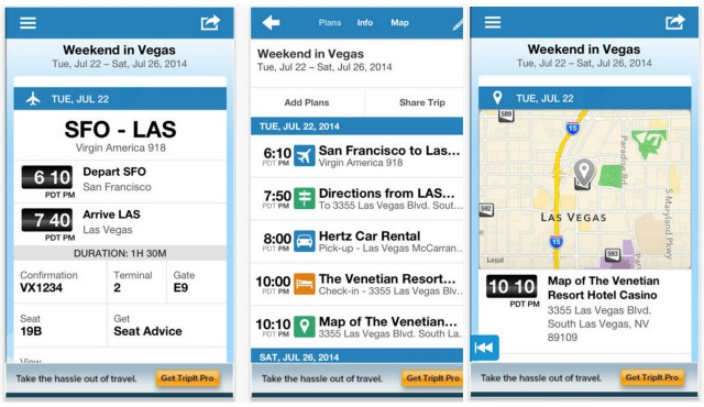 News: New update now available for TripIt travel app