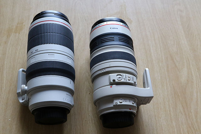 Canon 100-400 f/4.5-5.6L IS II USM lens