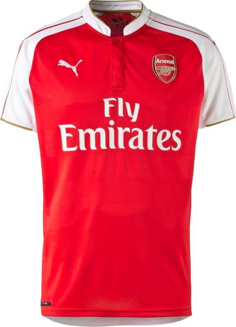 71dcb71c9 News  WIN the Arsenal home kit shirt with TechSmart and Puma
