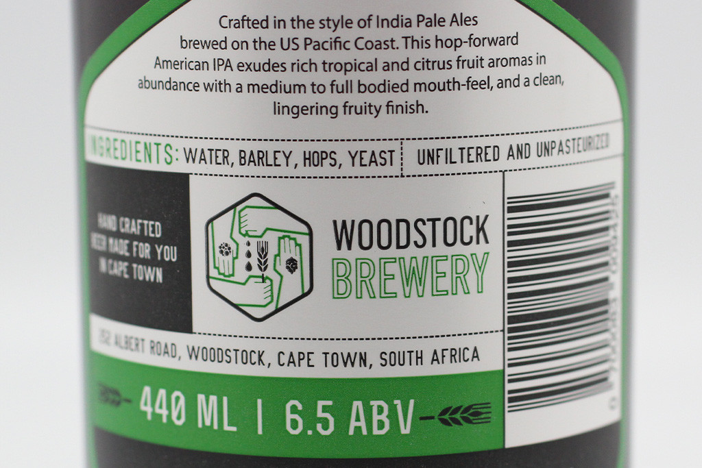 WOODSTOCK BREWERY CALIFORNICATOR