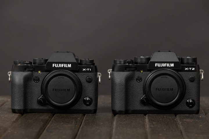 X-T1 X-T2 comparison Fujifilm