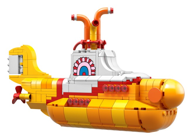 News: We all live in a Lego Submarine