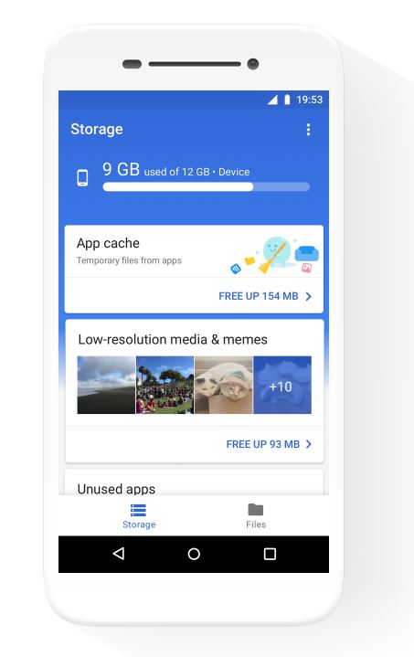 News: Google's Files Go app helps you free up space