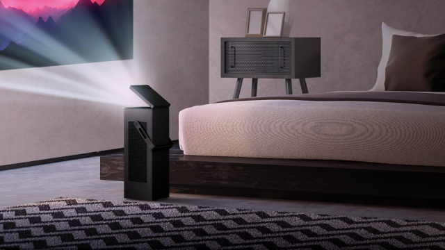 News: LG showcases 4K UHD Projector and 65-inch Rollable OLED TV for