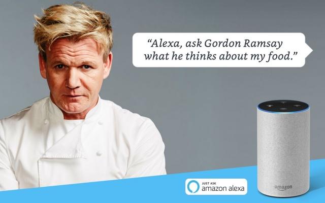 News: Gordon Ramsay's insults coming to an Amazon Alexa near you