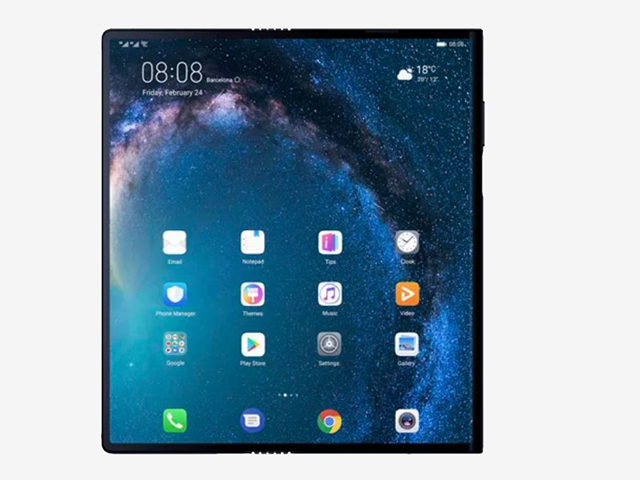 News: Huawei debuts its massive foldable phone, the Mate X